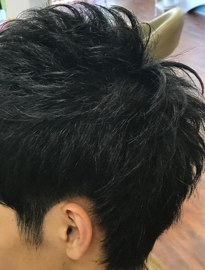 ツーブロック束感ショート‼️黒髪でもバッチリ👌 CHE-VEUXPLUS【シェヴー・プリュス】所属・吉田和哉のスタイル