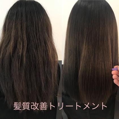✨美髪チャージ髪質改善トリートメント+髪質改善カラー✨✨