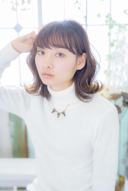 ワンレンベースカットスタイル Neolive sango所属・飯塚康希のスタイル