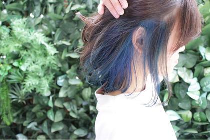 インナーブルーのカラーです✨色が落ちても別の色を入れて楽しむことができます😊