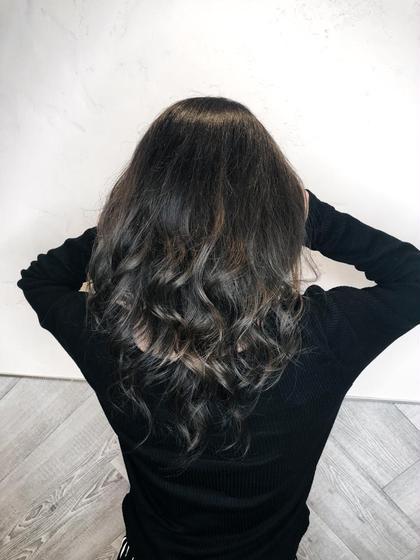 外国人風カラー代表★YUTA★のセミロングのヘアスタイル