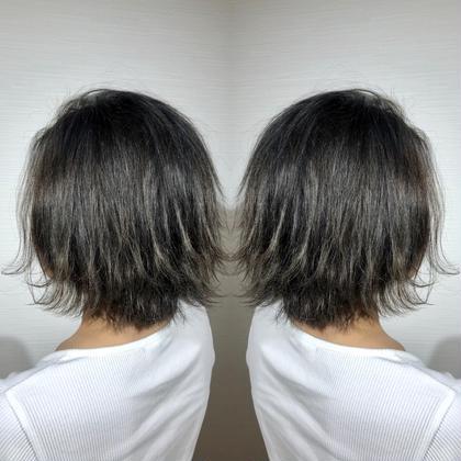 💕初回2回目限定💕📣📣就活・入社応援、黒染めじゃないダークトーンカラー&髪質改善トリートメント📣📣