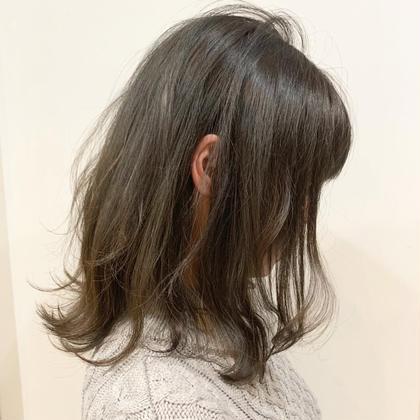 【透明感抜群シアーカラー+2ステップナノトリートメント】
