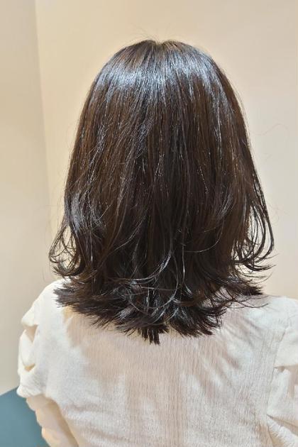 🌙バックフォト割引🌙レディース限定髪質改善カット