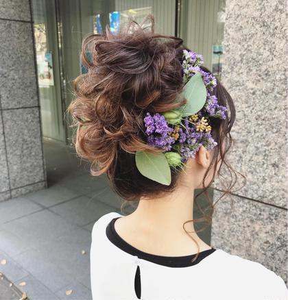 ワンカラーとヘアアレンジ CHERIEhair design所属・ヤマモト徹のスタイル