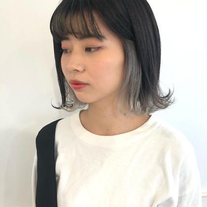 👼💖『インナーカラー+透明感ワンカラー+前髪カット』💖👼