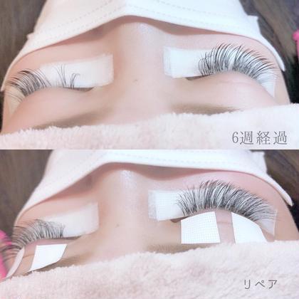 毎月ご来店頂いてる顧客様♪ 持ちがとても◎ ボリュームラッシュが 1ヶ月半で半分以上残ってました♪ K・O・Sbeautyhair,nail&eyelash所属・SatomiMayukoのフォト