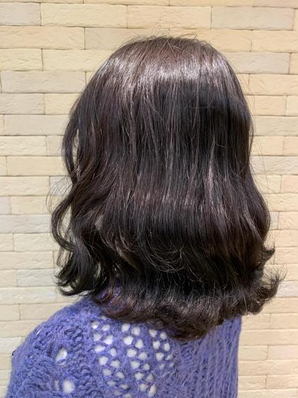 【輝くあなたに✨】スローカラー+髪質改善トリートメント+魔法のマーブ🧙♀️💗