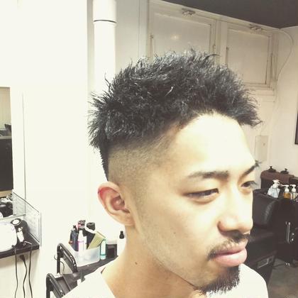 フェードスタイル JUNESman目白男髪所属・坂西竜のスタイル