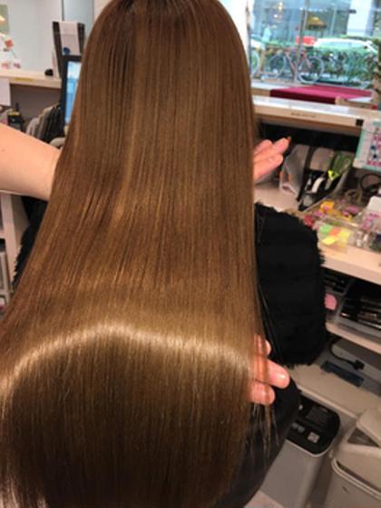 ✨極上の手触り✨髪質改善美髪チャージトリートメント+オージュアダブルトリートメントでなりたい髪質に✨ツヤ髪トリートメント
