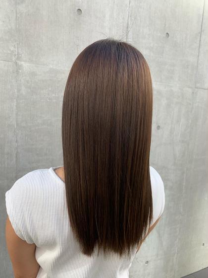 🍊【髪質改善】🍊☆☆縮毛矯正☆☆ 髪質改善!!湿気の多い季節に✨+3ステップトリートメント🌈