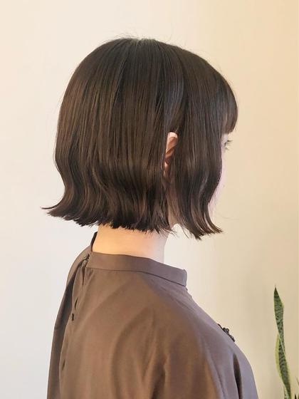 [🕊 パーソナルカラー診断付き 🕊] 透明感カラー + 極潤トリートメント +前髪カット+ホームケア補修ボトル付き
