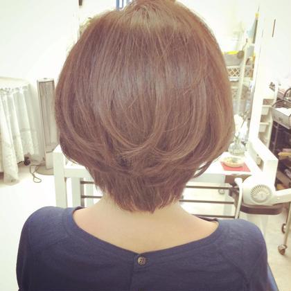 美シルエットショートスタイル✂︎ 阿出川雅也のショートのヘアスタイル