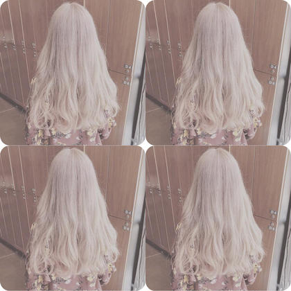 北川朔良のセミロングのヘアスタイル