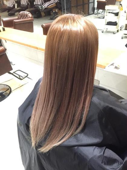 アッシュベージュ☆ MARIO HAIR DESIGN所属・竹嶌健吾のスタイル