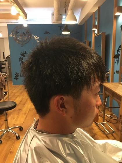 多賀杏奈のメンズヘアスタイル・髪型
