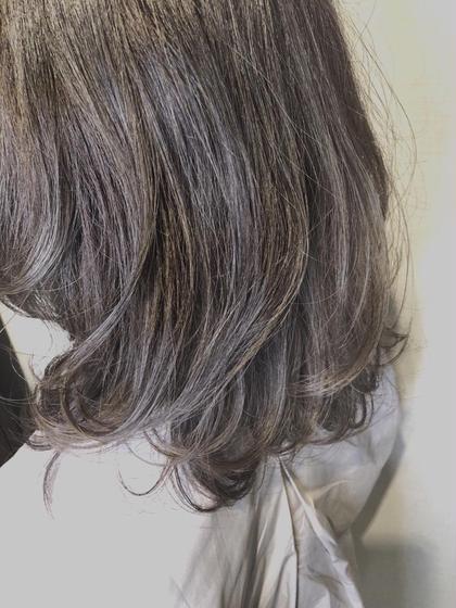 ‼️話題のグラデーションカラー‼グラデーションカラー❤️+ぷる艶トリートメント+前髪カット️