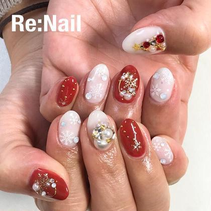 Re:Nail所属のNailistRinaのネイルデザイン