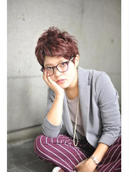 カジュアルボーイッシュショート★ Lecie by garbo所属・横山敏也のスタイル