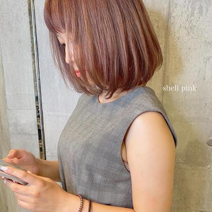似合わせ小顔カット&4ステップトリートメント  ¥3000