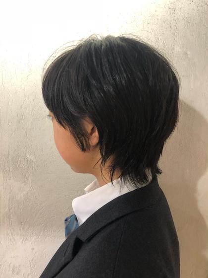 miel & melgina所属の野崎さつきのヘアカタログ