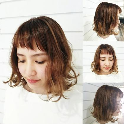 《5月限定》(ちょっぴりイメチェン)前髪カット+カラー+潤いトリートメント