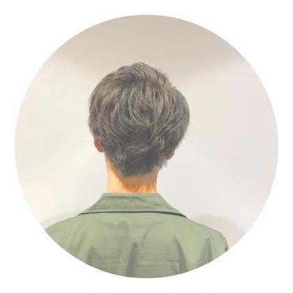 ブリーチ毛にオンカラーで✨ Hair&MakeEARTH蒲田店所属・山田海斗のスタイル