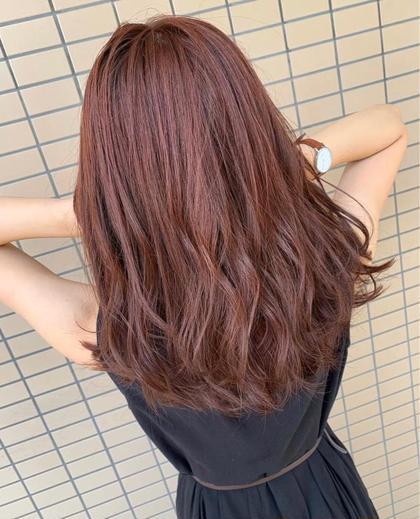🌸新規限定🌸 レディース  カットカラー💕  派手髪はお任せください!【ブリーチ込】【炭酸スパ付き】