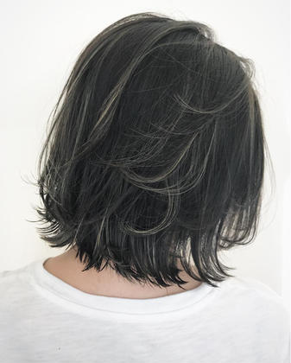 【❣️髪質改善❣️】カット+高級アディクシーカラー+ヘッドスパ+高級ローズトリートメント