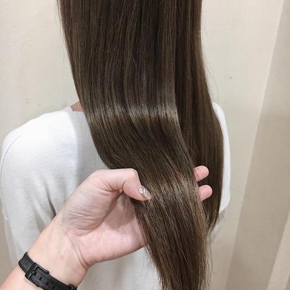 【最強ツヤメニュー】イルミナカラー + カット +オージュアトリートメント