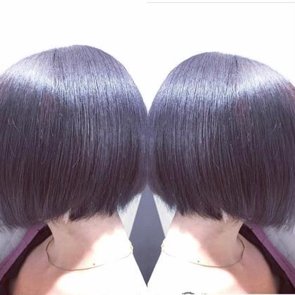 ★ color★  ⚡️バイオレッドカラー⚡️ EARTH coiffure beaute 伊勢崎所属・okamotoryoheiのスタイル