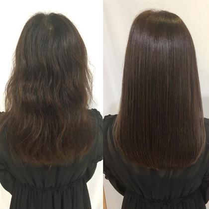 ずっとツヤ髪✨弱酸性ストレートパーマ✨ダメージがすくなく、元の髪より柔らかく綺麗になります♡ブリーチの方もご相談ください