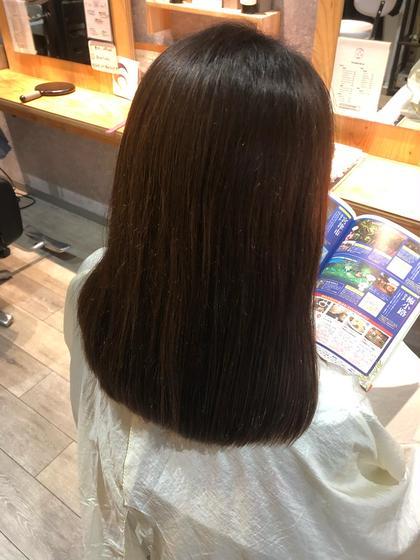 似合わせカット+新感覚フローディアトリートメント  カット+トリートメントでなりたい髪に!