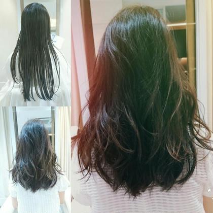 緩やかな巻き髪✨ sui所属・深瀬介志のスタイル