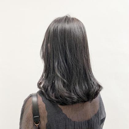 【💚就活生応援価格💚】●黒染めは使わない暗髪カラー➕オリジナルトリートメント💕💭透明感のある暗髪へ💭