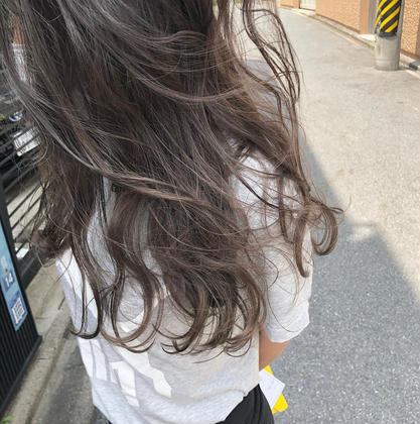 新規【人気NO.1☆】ブリーチなしでも透ける*透明感カラー & ケアトリートメント
