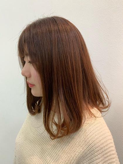 髪質改善ストレートパーマ🐠...