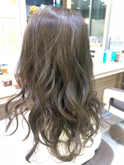 💭圧倒的透明感🗯ハイライト💭&✨ダメージレスカラー✨&髪質改善トリートメント♻️