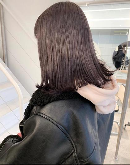 透明感カラー+最新髪質改善トリートメント✨✨ブリーチ毛にも可能