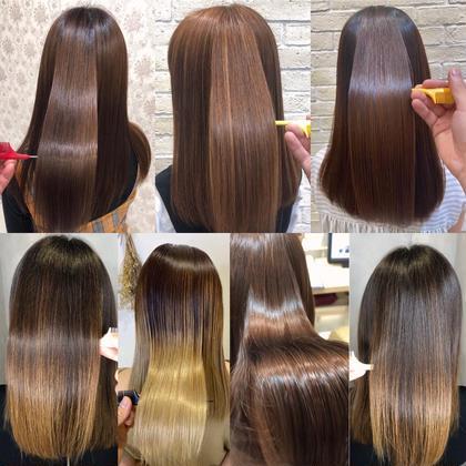 初回限定💗SNS話題❣️髪質改善⭐️酸熱トリートメント💓×艶トリートメント