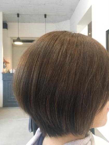 森谷惇のショートのヘアスタイル
