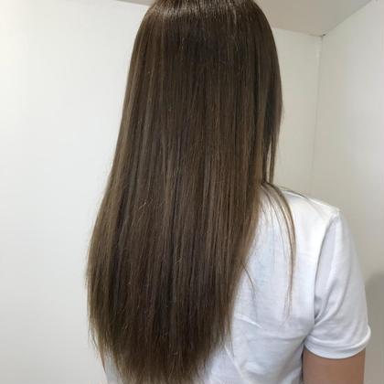 カット & 髪質改善スペシャルオッジィオットトリートメント