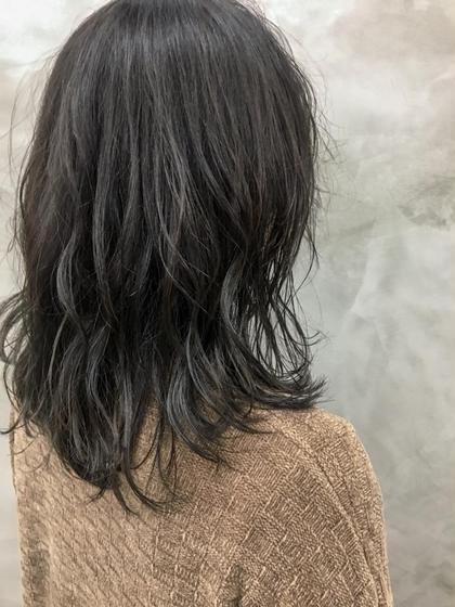 カラー 大人気暗髪❤︎❤︎重くならないように、透け感重視◎ #外国人風カラー#黒髪