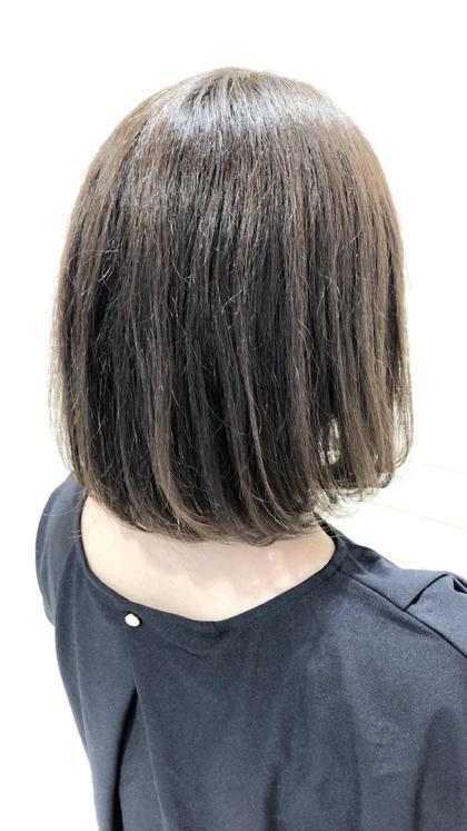 学生限定☆【黒染め後でも明るくしたい】カット+Wカラー+TR¥8000