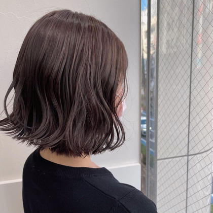 💙前髪カット+透明感カラー+シルクトリートメント💙