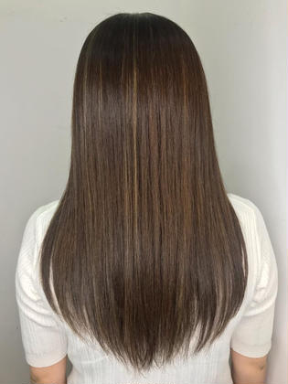 【3回目以降も使える⭐】髪の毛の癖・広がり・パサつき抑えます🎉髪質改善トリートメント🌺