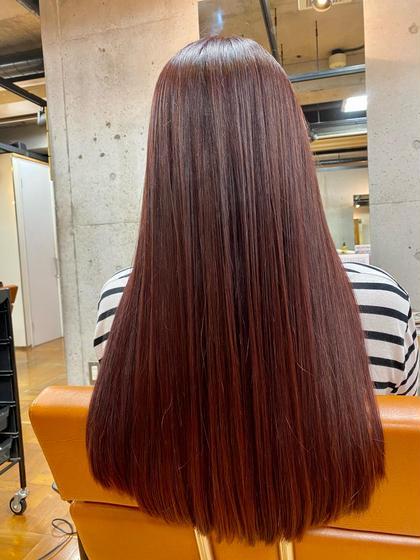 【ご新規限定☆】縮毛矯正+カット+Wヘアパック ¥12400→¥6500