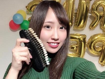 【初回】ホワイトニング🦷12分×2回 照射→4500円が3980円‼️人気コース🌈
