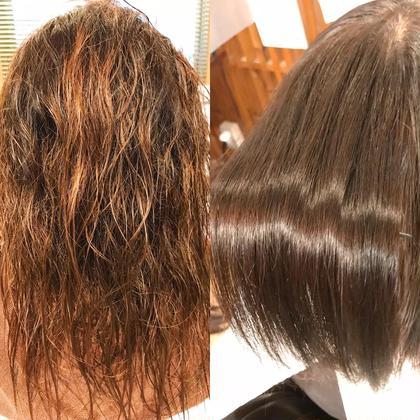 《髪質改善縮毛矯正》✨&やわらかシルエットカット✨業界最上級コタアイケアトリートメント付き✨