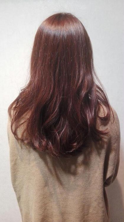 春に向けて明るくしたい方も是非!可愛いらしいピンクカラーです ダンディゾンブルー 神楽坂所属・保谷尭亨のスタイル
